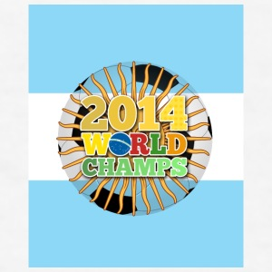 2014 World Champs Ball - Argentina - Men's T-Shirt