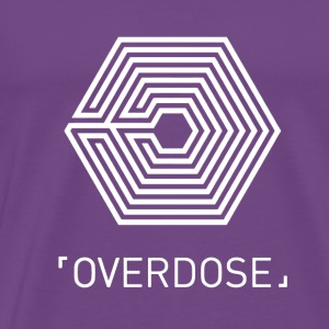 EXO Overdose ENG White Hoodies - Men's Premium T-Shirt