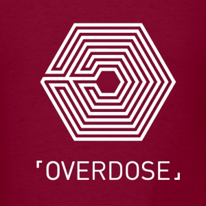 EXO Overdose ENG White Hoodies - Men's T-Shirt