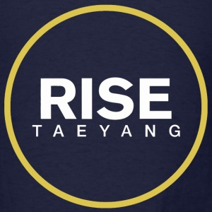 Rise - Bigbang Taeyang - White, Yellow halo Long Sleeve Shirts - Men's T-Shirt