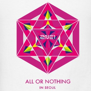2NE1 Seoul All or Nothing  Hoodies - Men's T-Shirt