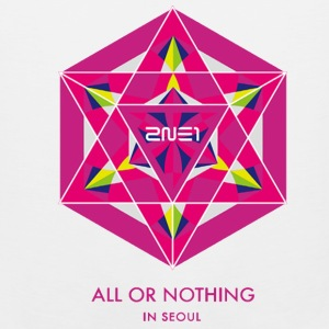 2NE1 Seoul All or Nothing  Hoodies - Men's Premium Tank