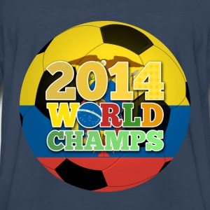 2014 World Champs Ball - Ecuador - Men's Premium Long Sleeve T-Shirt