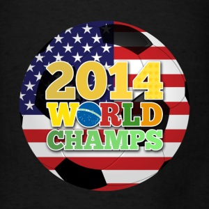 2014 World Champs Ball - Usa Bags & backpacks - Men's T-Shirt
