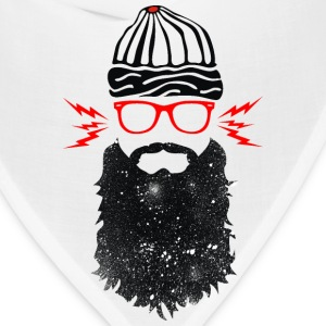 Nerd Beard Glasses - Bandana