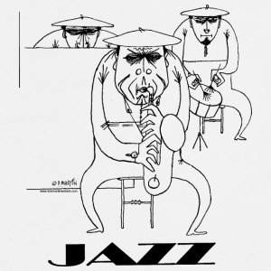 JAZZ mug - Men's Premium T-Shirt