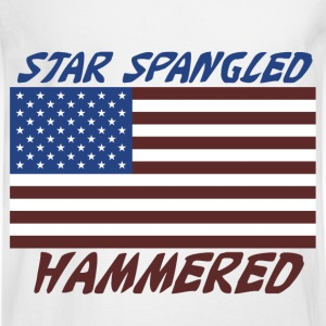 Star Spangled Hammered - Men's Long Sleeve T-Shirt