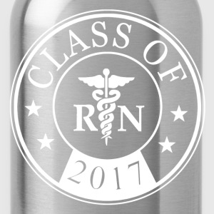 class_of_2017_registered_nurse Women's T-Shirts - Water Bottle