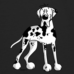 Great Dane - Dog - Dogs - Breed - Cartoon Baby & Toddler Shirts - Men's Premium Long Sleeve T-Shirt