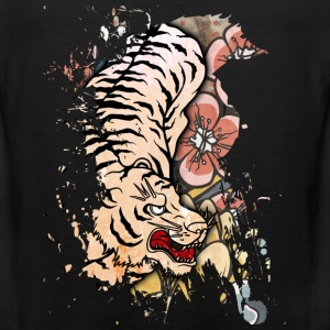 White Tiger Kids' Shirts - Men's Premium Tank