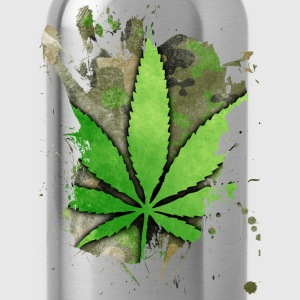 Weed Leaf T-Shirts - Water Bottle