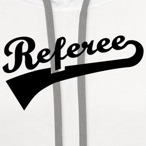 Referee T-Shirts - Contrast Hoodie