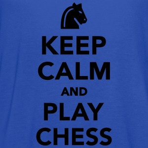 Keep calm and Play Chess Kids' Shirts - Women's Flowy Tank Top by Bella