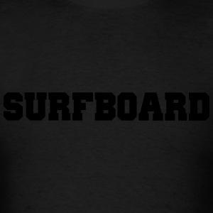Surfboard Long Sleeve Shirts - Men's T-Shirt