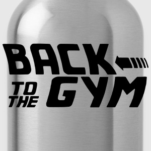 BACK TO THE GYM Long Sleeve Shirts - Water Bottle