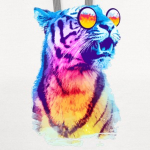 MULTI-COLORED TIGER SPECIAL - Contrast Hoodie