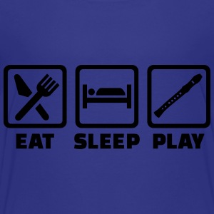 Eat Sleep Flute Kids' Shirts - Toddler Premium T-Shirt