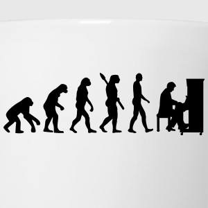 Evolution Piano T-Shirts - Coffee/Tea Mug