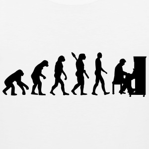 Evolution Piano T-Shirts - Men's Premium Tank