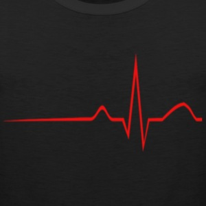 Heart Monitor Women's T-Shirts - Men's Premium Tank