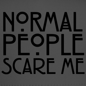 Normal People Scare Me Hoodies - Trucker Cap