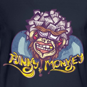 Premium Hoodie - Funky Monkey - Men's Long Sleeve T-Shirt