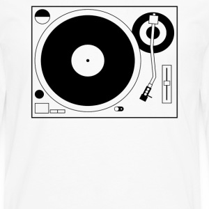 Turntable Tee - Men's Premium Long Sleeve T-Shirt
