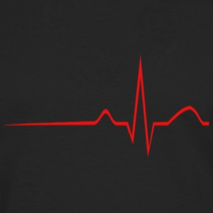 Heartbeat - Men's Premium Long Sleeve T-Shirt