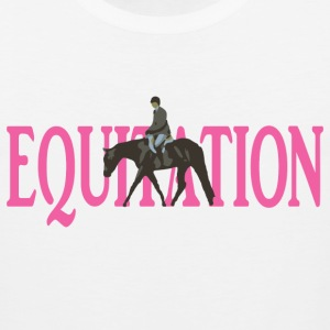 Equitation Women's T-Shirts - Men's Premium Tank