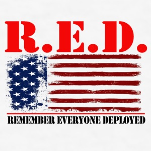 R.E.D US by GF APPAREL Bottles & Mugs - Men's T-Shirt