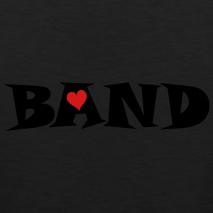 Band Small Heart Bags & backpacks - Men's Premium Tank