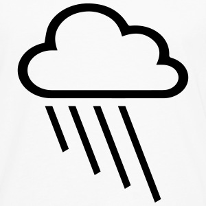 rain and cloud T-Shirts - Men's Premium Long Sleeve T-Shirt