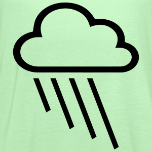 rain and cloud T-Shirts - Women's Flowy Tank Top by Bella