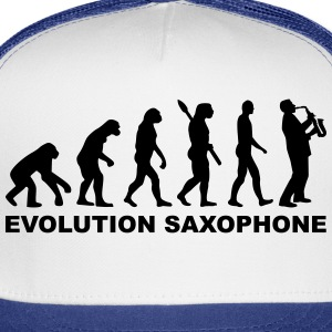 Evolution Saxophone T-Shirts - Trucker Cap