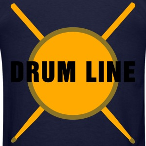 Drum Line  Zip Hoodies & Jackets - Men's T-Shirt