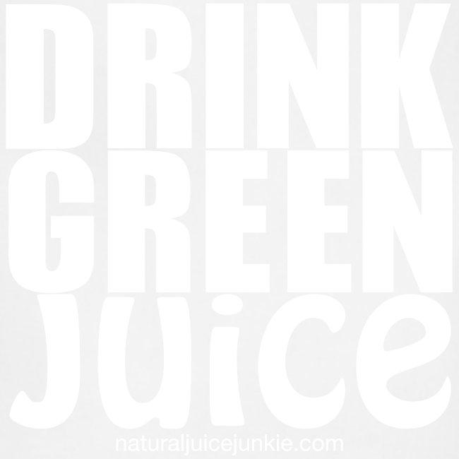 Drink Green Juice - Men's Ringer Tee