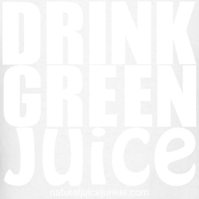 Drink Green Juice - Men's Ringer Tee