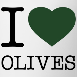 I LOVE OLIVES - Coffee/Tea Mug