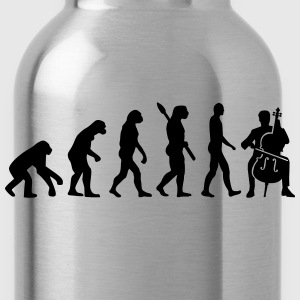 Evolution Cello T-Shirts - Water Bottle