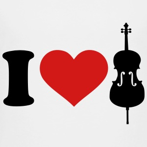 I love Cello Kids' Shirts - Toddler Premium T-Shirt