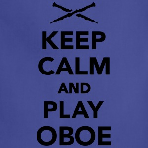 Keep calm and Play Oboe Women's T-Shirts - Adjustable Apron
