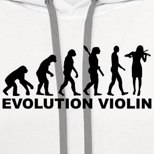 Evolution violin T-Shirts - Contrast Hoodie