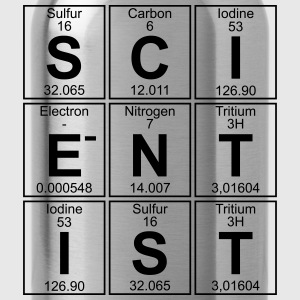S-C-I-E-N-T-I-S-T (scientist) Men - Water Bottle