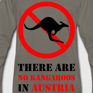 No Kangaroos in Austria - Men's Premium Long Sleeve T-Shirt