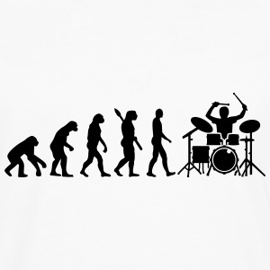 Evolution Drums Kids' Shirts - Men's Premium Long Sleeve T-Shirt