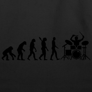 Evolution Drums T-Shirts - Eco-Friendly Cotton Tote
