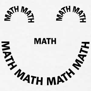 Math Smile Caps - Men's T-Shirt