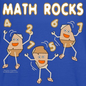 White Math Rocks  Kids' Shirts - Women's Flowy Tank Top by Bella