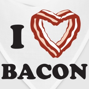 I heart bacon - Bandana