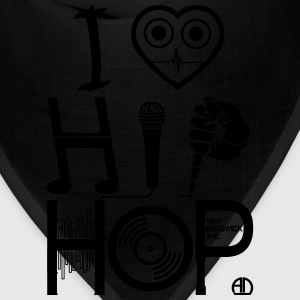 I Love Hip-Hop - Music Design DJ - Bandana